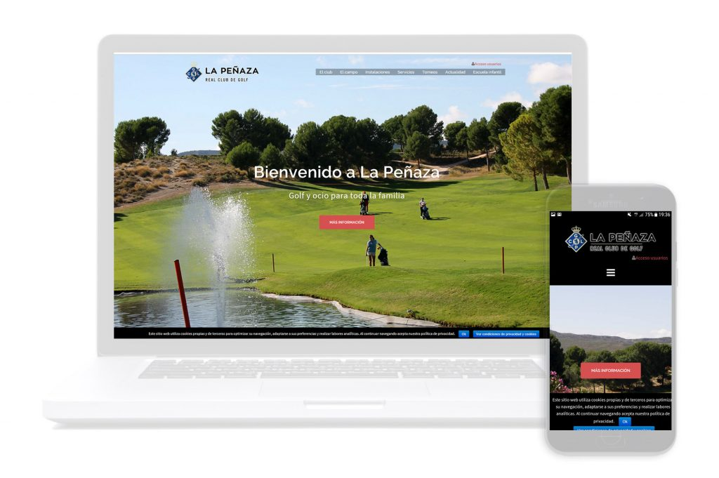 Web golf La Peñaza